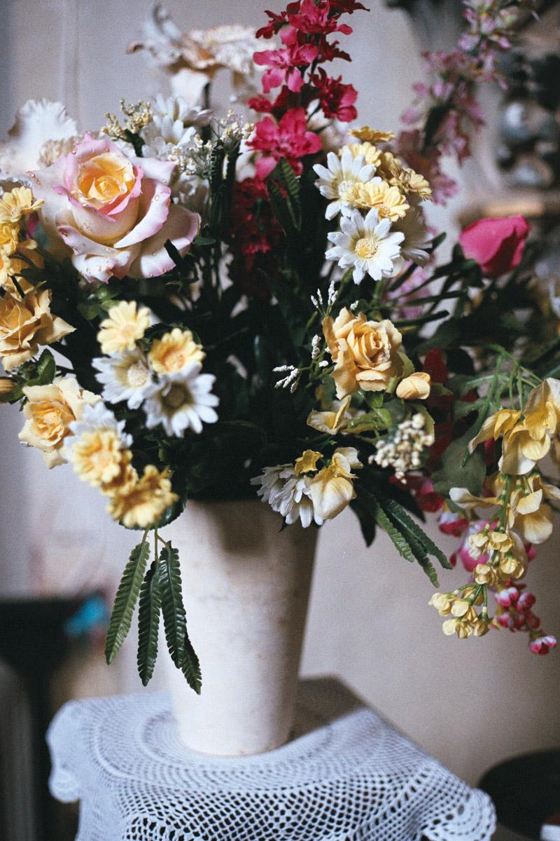 Bouquet de Fleurs - Église de Pimbo - Landes