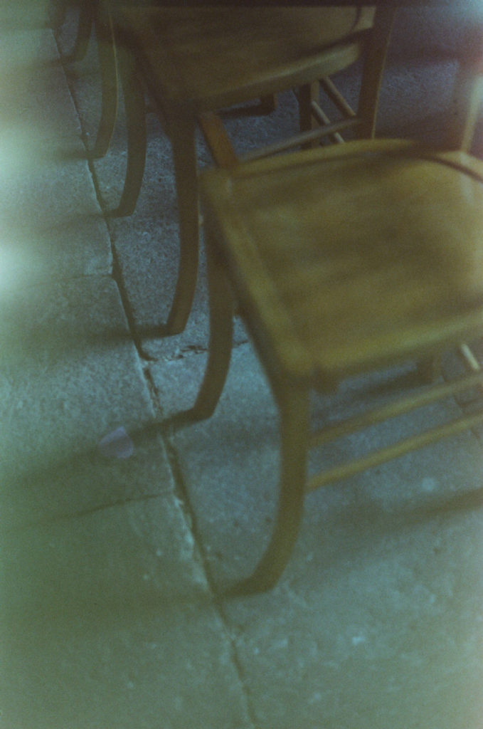 Failed film photography